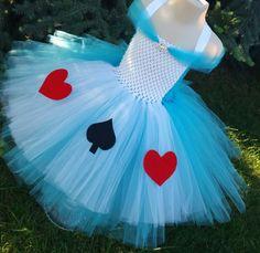 Alice In Wonderland Tutu Dress Onederland by TutuOclockSomewhere