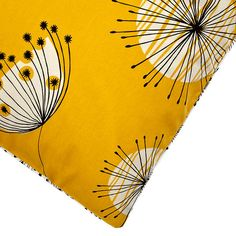 BuyMissPrint Home Dandelion Mobile Duvet Cover and Pillowcase Set, Yellow, Single Online at johnlewis.com