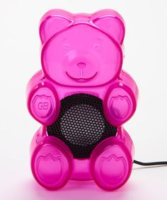 Take a look at this Raspberry Gummy Bears Scented Speakers by Gummy Bears on #zulily today!