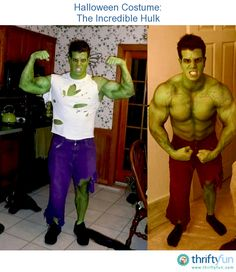 This is a guide about making an Incredible Hulk costume. The Incredible Hulk is one of the most famous characters in comic book history and makes a great Halloween Costume.