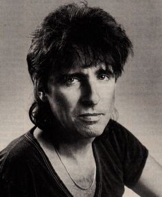 Alice Cooper (1985) This was when Alice was fighting alcoholism for a second time and took a break from touring.  …This is also one of the strangest photos of Alice that I have.