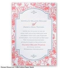 Toile+Botanical+Letterpress+-+Mercury+-+Invitation