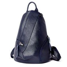 NŐI HÁTIZSÁK - 2018 MODELL - NEW FASHION - FLORENTA - KÉK Sling Backpack, Leather Backpack, Leather Bags, New Fashion, Backpacks, Sport, Wallets, Travel, Leather Tote Handbags