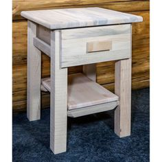 Montana Woodworks Homestead 1 Drawer Nightstand - MWHCND