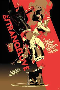 Dr. Strangelove by TOMER HANUKA, with type by AVI NEEMAN