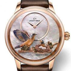 Immagine orologio Jaquet Droz modello Petite Heure Minute Bird