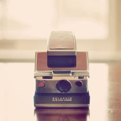 Polaroid sx-70 - i keep finding these for ~$7 at the thrift store, they apparently sell for far far more on ebay. crazy stuff.