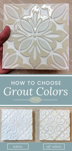 how to make tile grout look darker