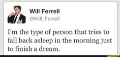 I do that every morning...