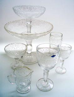 Lasikammari – Tableware. Apila, vanha malli 1890-luvulta, 1977-93, Nuutajärvi