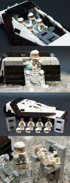 LEGO Interstellar Model Looks Fantastic Read More: http://technabob.com/blog/2015/01/30/lego-interstellar-model/