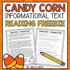 Halloween Reading Comprehension Passage and Questions - This high-interest informational text passage is perfect for October reading! This high-interest no - Reading Comprehension Activities, Reading Passages, Halloween Worksheets, Halloween Activities, Professor, Speech And Language, Language Arts, 5th Grade Reading, Fourth Grade