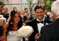 Oh, Jensen... why did you have to marry Squeaky McGee??? I love you.