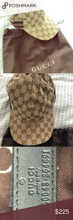 a6afb0810b6 Authentic Gucci Cap Gucci cap with dustbag. NWT not worn. Gucci Accessories  Hats Gucci
