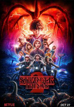 Stranger Things Season 2 Official Poster.