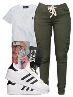 """"" by tayloryvonne1 on Polyvore featuring Ralph Lauren, adidas and BERRICLE"