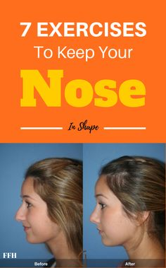 7 Unbelievable Exercises That Will Help To Keep Your Nose In Shape Health And Fitness Articles, Health Advice, Health Goals, Health And Wellness, Health Fitness, Men Health, Men's Fitness, Muscle Fitness, Health Quotes