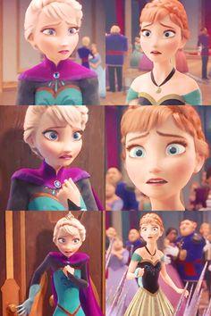 Disney Frozen Anna and Elsa   Elsa and Anna - Disney Princess Photo (35926675) - Fanpop fanclubs