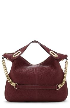 Gorgeous! This plum Vince Camuto satchel is perfect for fall.
