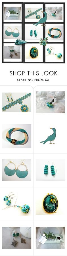 """Unique Handmade Gifts"" by anna-recycle ❤ liked on Polyvore featuring modern"