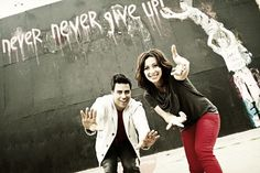 The famous couple of hiphop choreography on So You Think You Can Dance competition :  Napoleon & Tabitha D'umo ( NappyTabs )