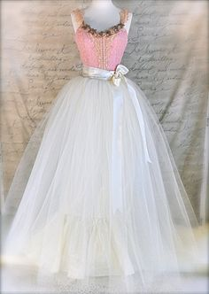 crinolines and tulle skirts