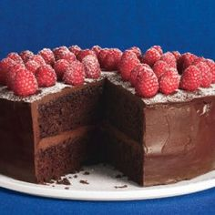 Simple Two-Layer Chocolate Birthday Cake with Milk Chocolate Ganache Recipe - Bon Appétit