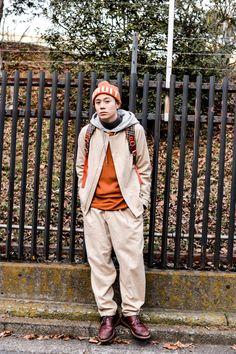 ICCHO STYLE BLOG -TOKYO STREET STYLE MAGAZINE Tokyo Fashion, Grunge Fashion, Mens Fashion, Ysl, Street Style Magazine, Tokyo Street Style, Amazing Street Art, Hats For Men, Moda Masculina