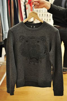 Kenzo sweater, I want.