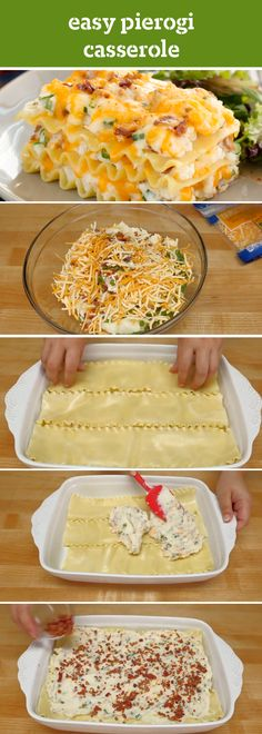 Easy Pierogi Casserole – Do you enjoy hot, cheesy potatoes? If so, you'll really like this recipe for an easy periogi casserole! It's everything you look for in a pierogi but with simple-to-transport, potluck-perfect form. Get the ingredients you need delivered to your home with Instacart where available.
