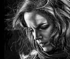 Hermione drawing by Helene Kupp