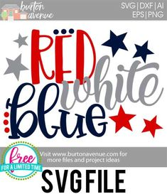 Get this SVG file for free! Read more. Vinyl Crafts, Vinyl Projects, Patriotic Shirts, Patriotic Crafts, July Crafts, Patriotic Party, Free Svg Cut Files, Svg Files For Cricut, Fourth Of July Decor