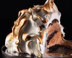 Culy's ultieme kerstdessert: chocolade Baked Alaska