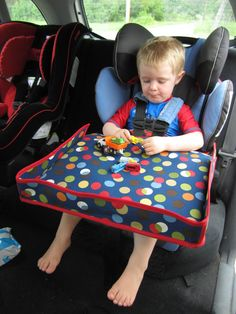 Car Seat Tray PDF Sewing Pattern for toddler or by 270degrees, $5.95