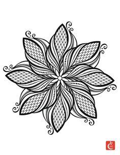 Mandala à colorier 1