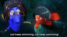 Just keep swimming Levi!