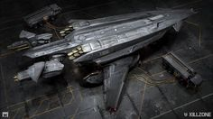 """A behind the scenes look at the development process of a vehicle in the Killzone Universe. The content here does not represent the final """"Killzone Shadow Fall"""" product, but the design process that lead to the vehicle's final form."""