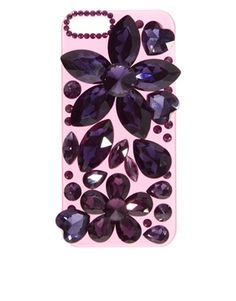 ASOS iPhone 5 Clip On Case With Oversized Crystals Fall 2013