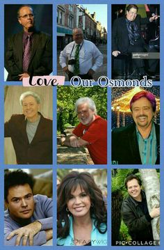 Donny Osmond, Marie Osmond, Osmond Family, The Osmonds, Families, Roses, Ads, Music, Kitchen