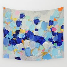 Amoebic Party No. 2 Wall Tapestry