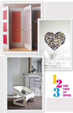A fresh and creative home décor will bring our home life more fun. Some small ideas will also bring your home different look and bring you different feeling towards your home.