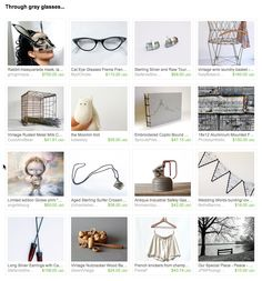 Through gray glasses...  by Zane and Ieva Brences from bloomyjewelry