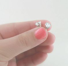 Who wouldn't love these Lab-Created Diamond earrings?!