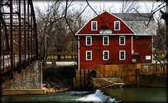 War Eagle Mill - more specifically, to the craft fair they have there every fall and spring!