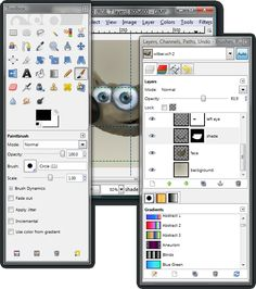 Learn to use GIMP