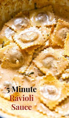 Best Pasta Sauce Recipe, Ravioli Sauce Recipe, Quick Pasta Recipes, Cream Sauce Pasta, Chicken Pasta Recipes, Cooking Recipes, Sauces For Ravioli, Dinner Recipes, Healthy Recipes