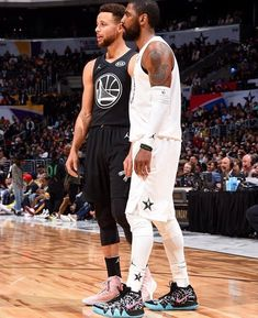 Los Angeles Calif. 2/18/18 #KevinDurant Of Team LeBron, #StephenCurry #DraymondGreen and #KlayThompson of Team Stephen, during the NBA AllStar Game as a part of 2018 NBA AllStar Weekend at STAPLES Center on February 18 2018...