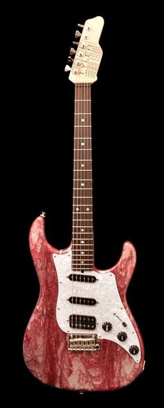 James Tyler Guitars Cherry Red