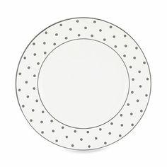 kate spade new york Larabee Road Platinum Dinner Plate