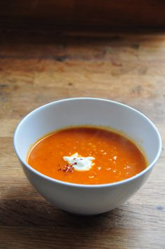 Spiced Tomato Soup.